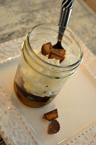peanut butter pie jar 4 thepaintedapron.com