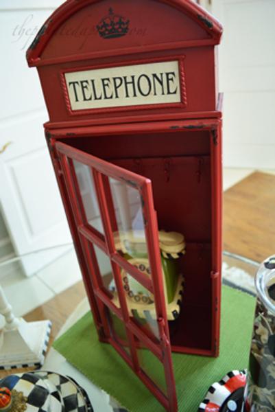 telephone booth thepaintedapron.com