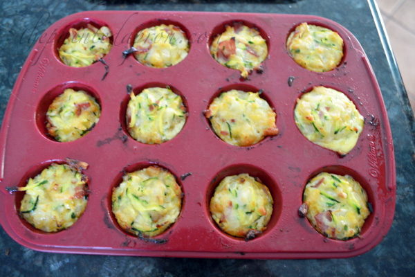 Zucchini muffins thepaintedapron.com