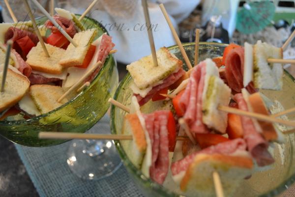 Italian sandwich bites thepaintedapron.com