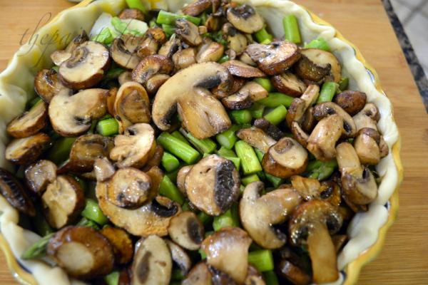 mushroom and ham pot pie thepaintedapron.com