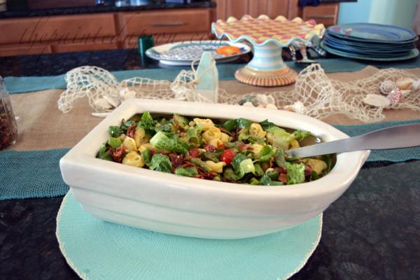 pasta salad boat