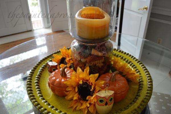 sunflowers and pasta thepaintedapron.com