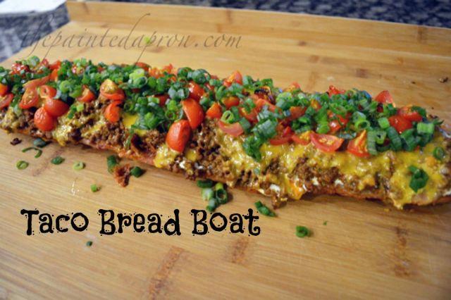 taco bread boat
