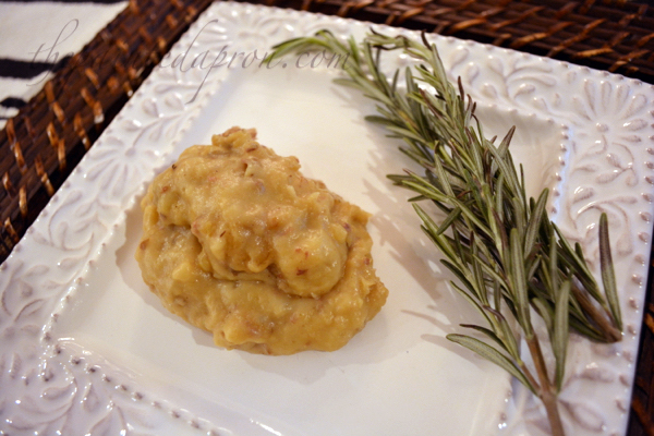 brown butter mashed potatoes thepaintedapron.com