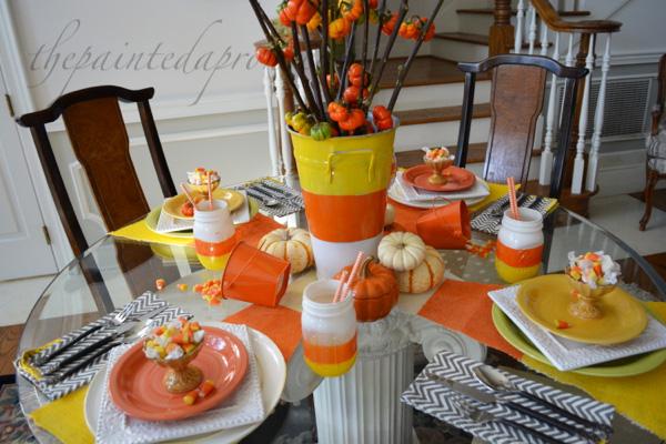 candy corn party 5 thepaintedapron.com