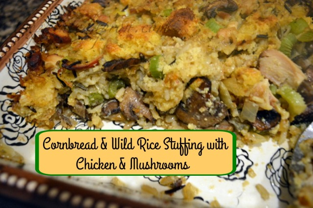 chicken and mushroom stuffing thepaintedapron.com