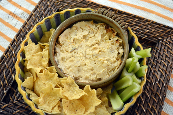 spiked cheesy onion dip thepaintedapron.com
