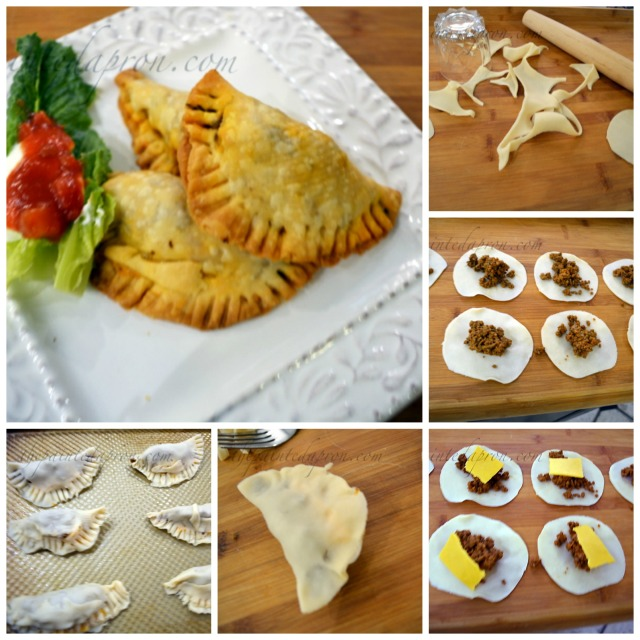 taco empanada collage
