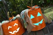 white pumpkin faces