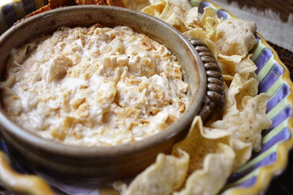 wine and cheese dip thepaintedapron.com