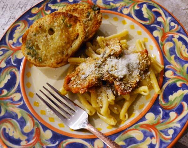 butternut squash and capocollo pasta
