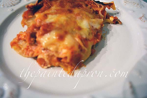 luscious lasagna