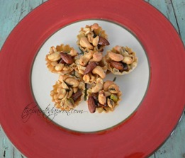 rosemary mixed nut tartlettes