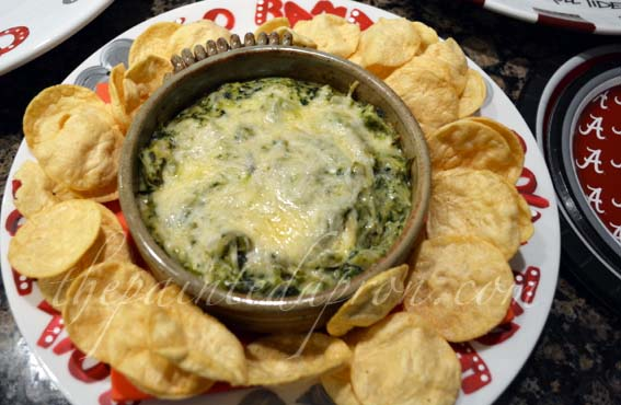 spinach soufflé artichoke dip
