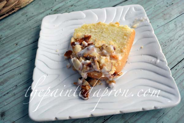 toffee almond pound cake