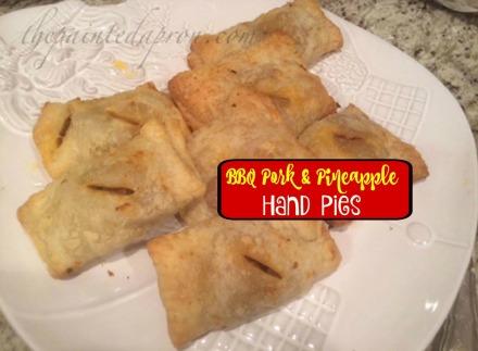 BBQ pork & pineapple hand pies