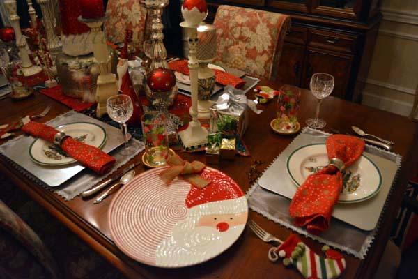 Santa table