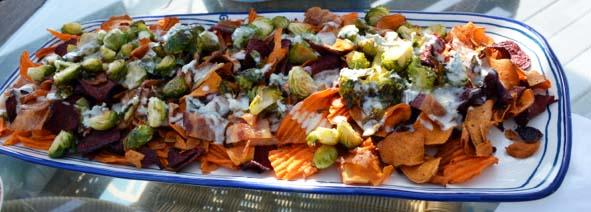 sweet potato chip nachos