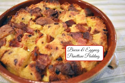 bacon & eggnog panettone