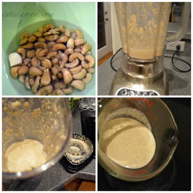 cashew cream