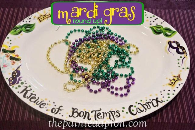 mardi gras platter thepaintedapron.com
