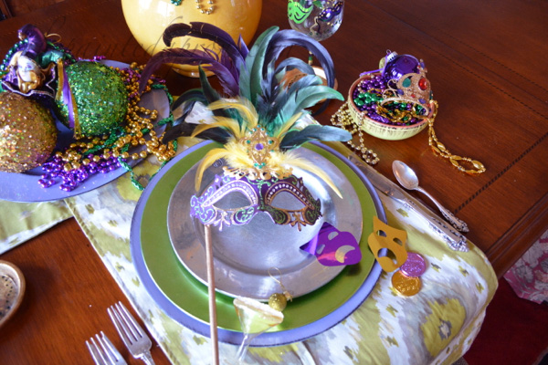 mask place setting