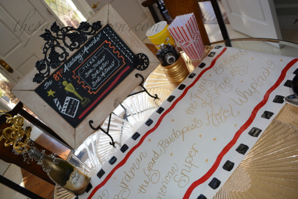 oscar night table runner