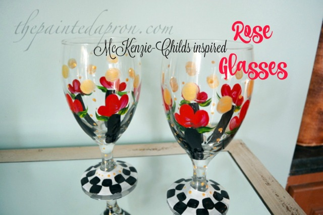 rose glasses