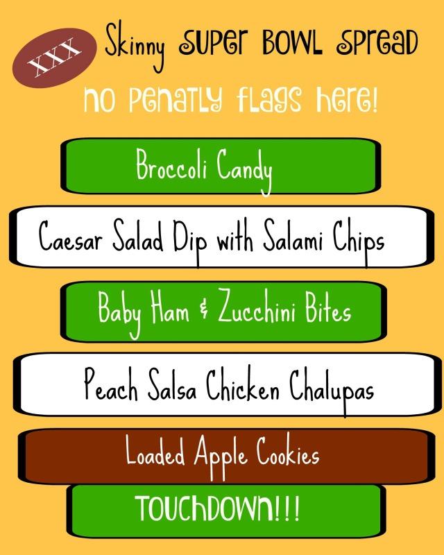 super bowl menu 3