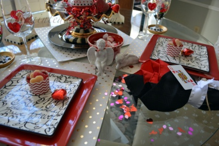 Valentine table