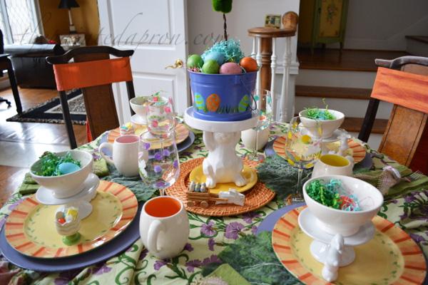 bunnies and eggs 2