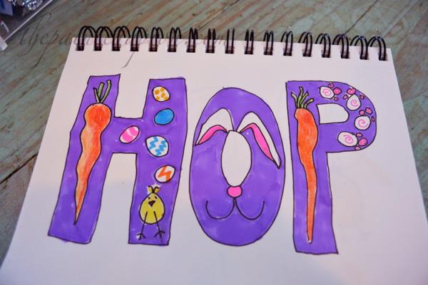 color hop sketch