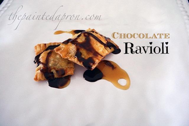 dessert ravioli