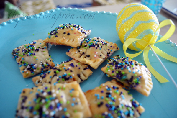 Easter chocolate ravioli