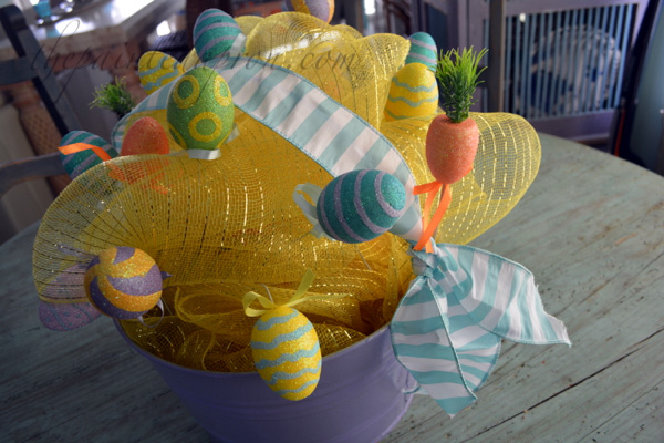 Easter egg bucket