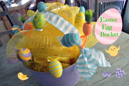 Easter egg bucket