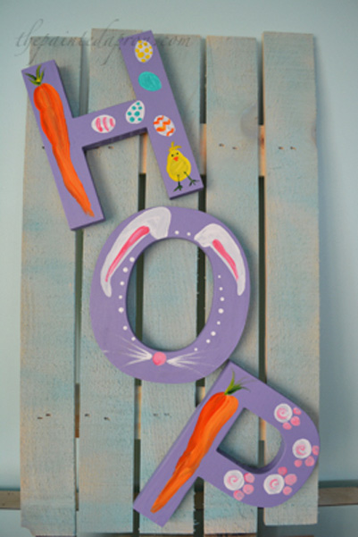 Easter hop sign