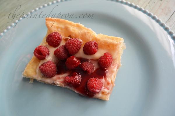 raspberry pastry