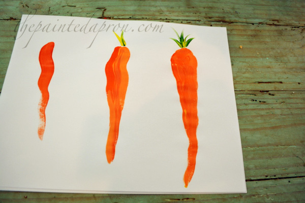 painting carrots