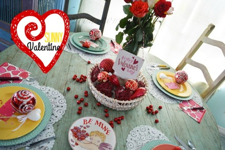 Valentine table 1