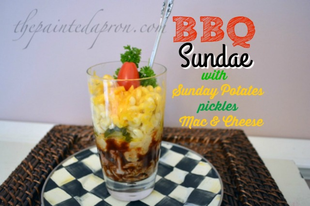 BBQ Sundae with a tomato top