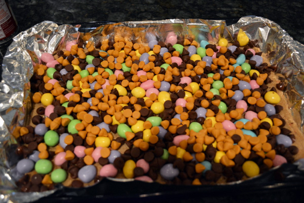 Easter egg bars