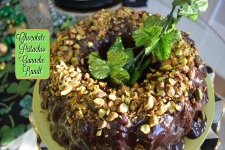 Irish Gold lucky chocolate cake
