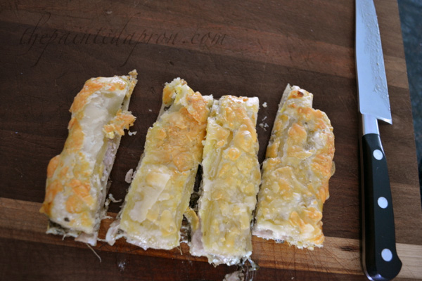 puff pastry finger sandwiches