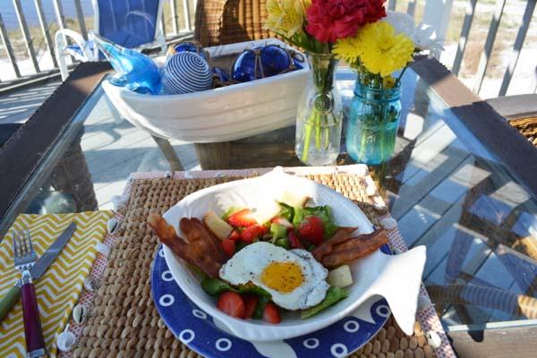 bacon and egg salad