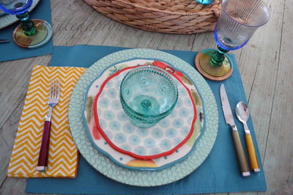 mix match place setting