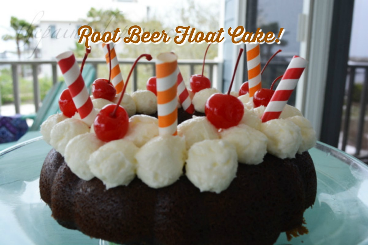 root beer float cake panache root float cake the painted apron 7110