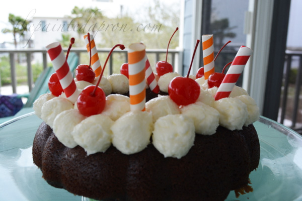 rootbeer float cake 2
