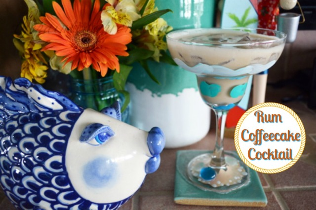 Rum Coffeecake Cocktail 1